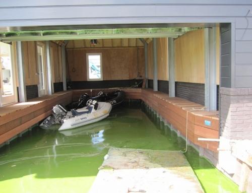Bekleden botenhuis – Aalsmeer