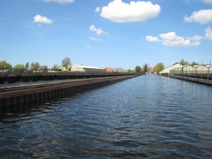 Kunststof beschoeiing - Oosteinderweg Aalsmeer2